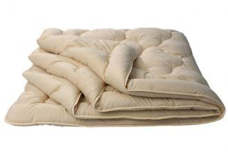 "Одеяло 26 ""Караван"" (шерсть верблюжья 150/микрофибра) евро"