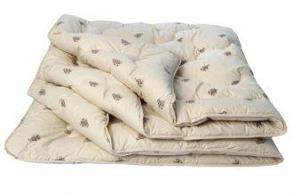 Одеяло 31 (шерсть верблюжья 300/тик) 1,5-спальное