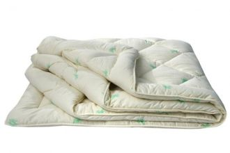 Одеяло 32 (бамбук 150/сатин) 1,5-спальное