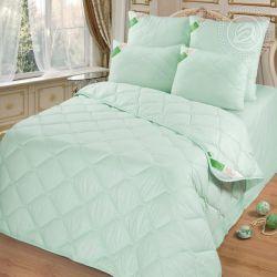 Одеяло 67  арт. 2394 (бамбук 300/микрофибра) 1,5-спальное