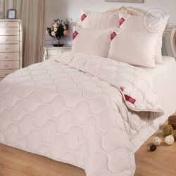 Одеяло 72 арт. 2474 (шерсть верблюжья 200/микрофибра) 1,5-спальное