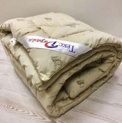 Одеяло (140х205) из Овечьей Шерсти Утолщенное (400 г/м2) тик смесовой 1,5-спальное