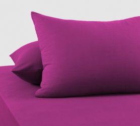 Наволочки трикотажные (фиолетовые) 70х50