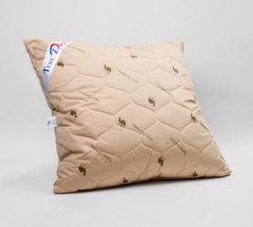 Подушка (68х68) верблюжья шерсть  шерсть/тик